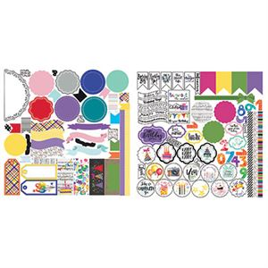 Picture of Everyday Birthday Stackable Stickers by Lauren Hinds